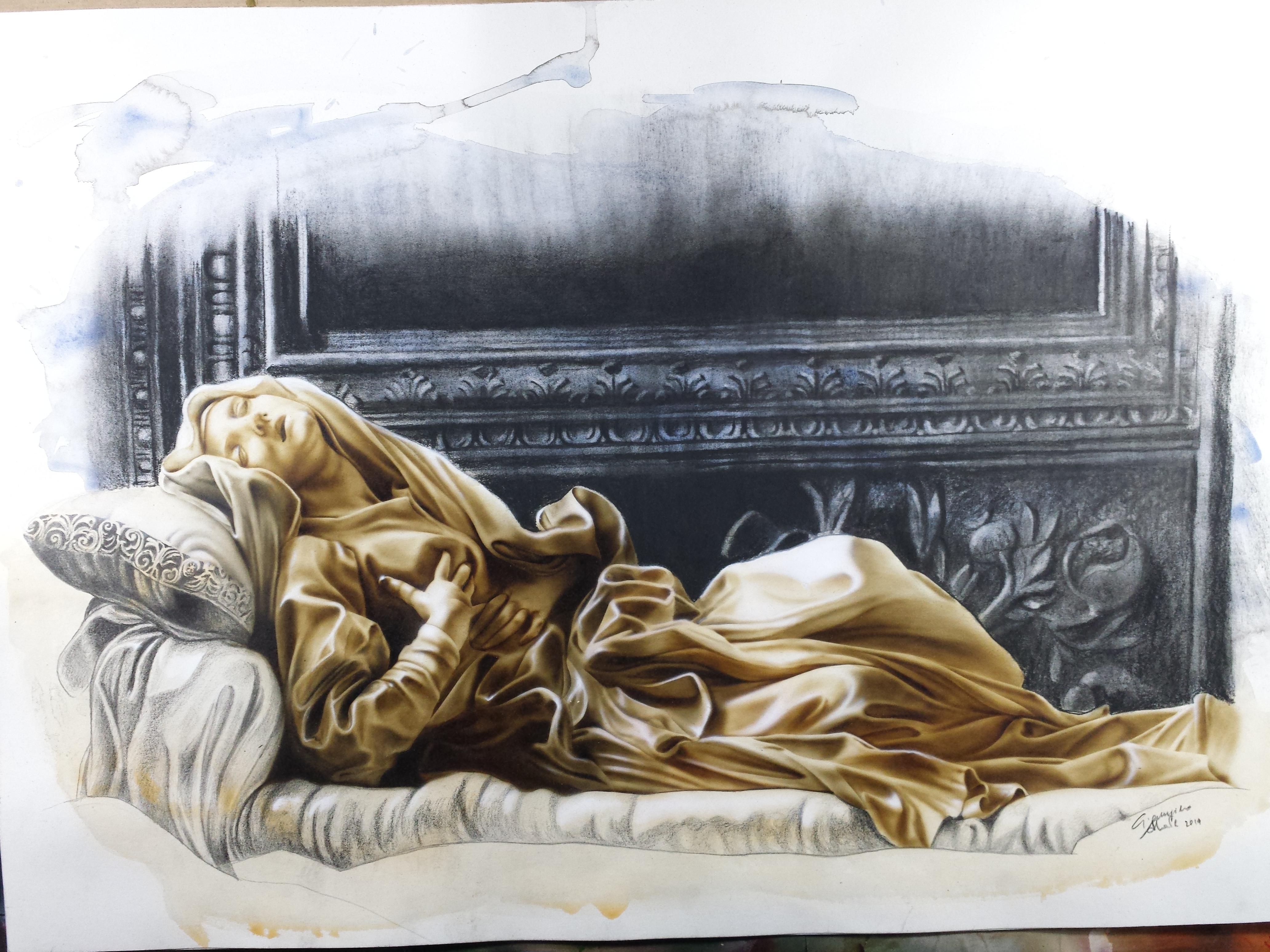 Estasi della Beata Ludovica Albertoni - G L Bernini