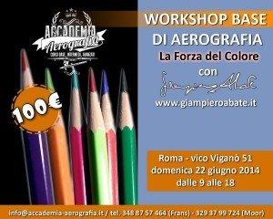 Workshop Base Aerografia la forza del colore