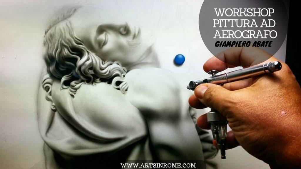 Workshop ritratto aerografo roma
